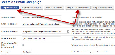 Create an Email Marketing Campaign