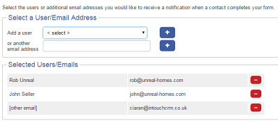 Get notified when a form is submitted