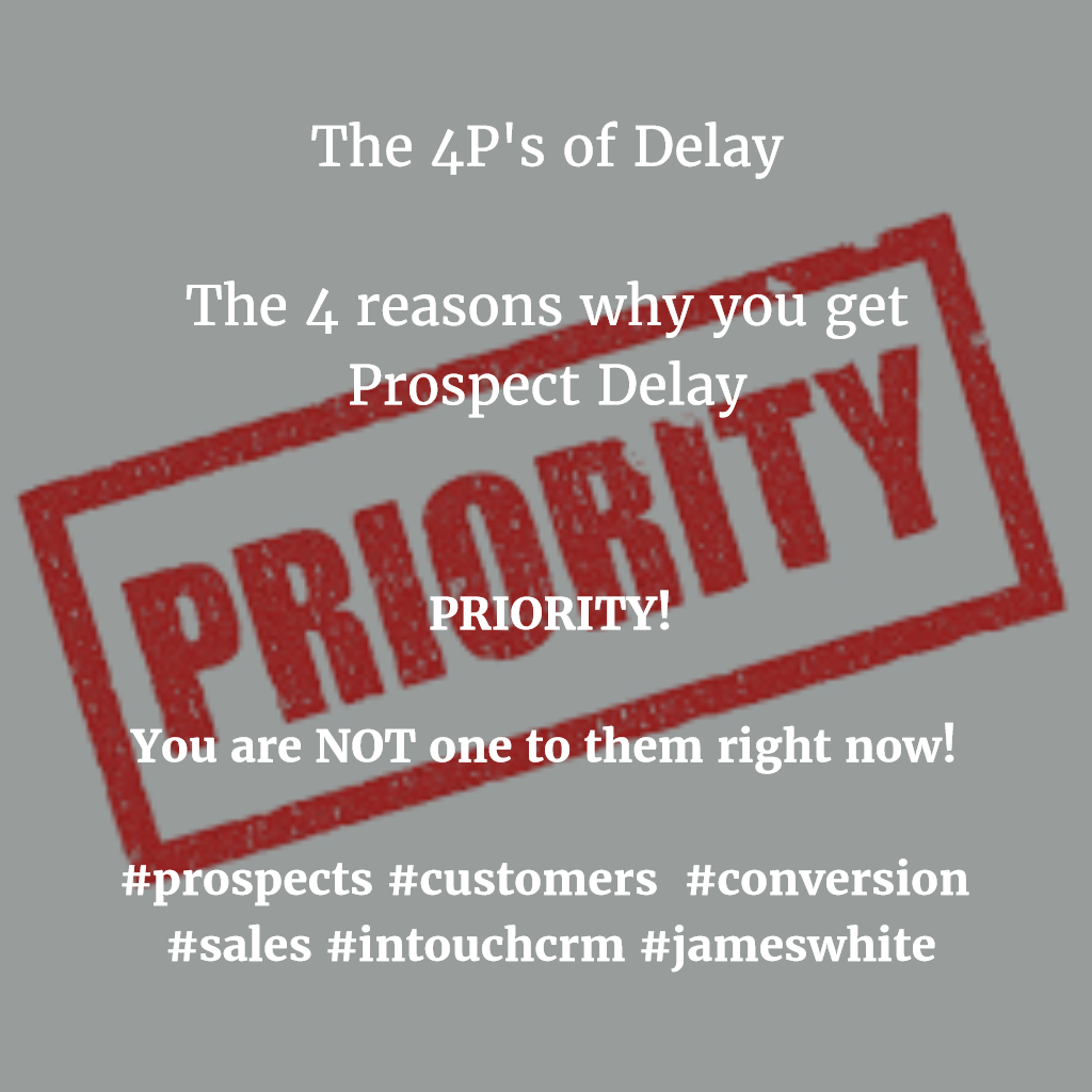 4Ps of Delay_Pain_Prospects_Conversion_James_White