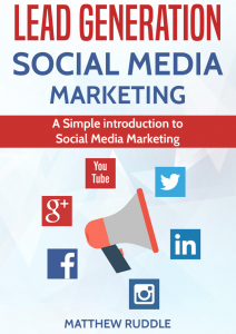 Lead Generation Social Media Marketing E-book Cover
