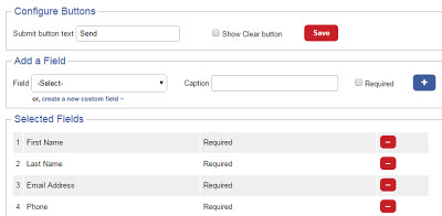 Smply generate online contact forms