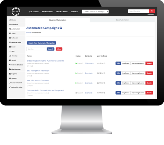 Automated Campaigns & Email Autoresponders