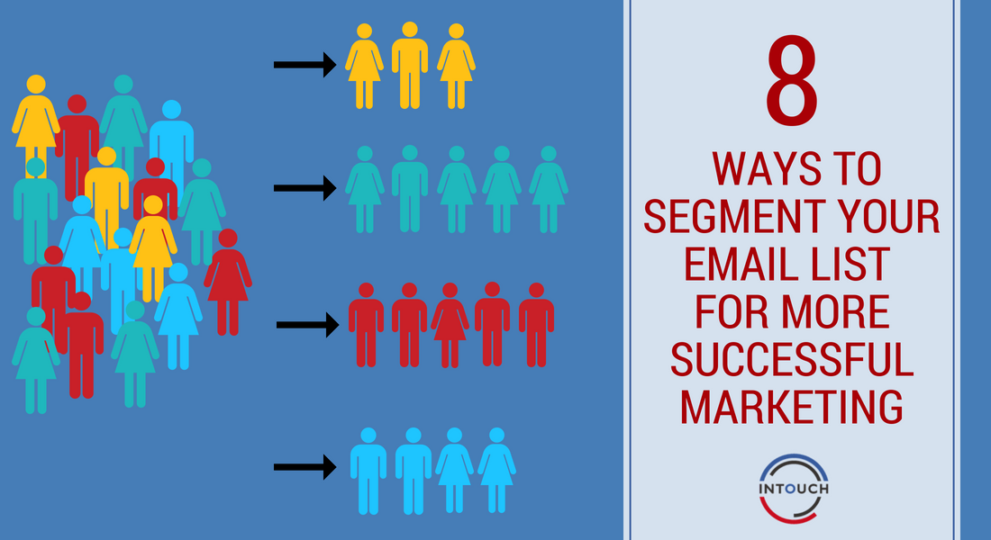 8 Ways to Segment Your Email List for More Successful Marketing