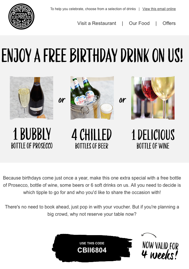 Great Marketing Automation Campaigns to Boost your Sales_birthday campaign