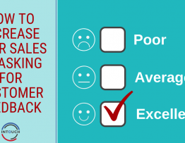 Increase your Sales by Asking for Customer Feedback