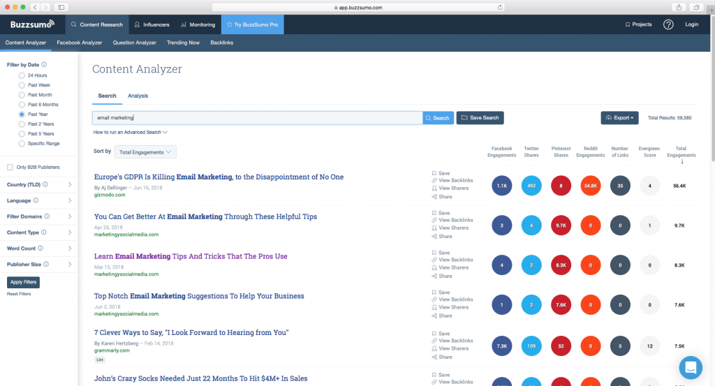 10 Tools to Improve Your Email Marketing-BuzzSumo